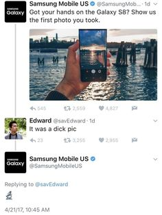 Samsung ain't playing no games : GalaxyS8