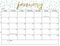 Check out this ladies 20+ Free 2016 calendars!! Lets get organized...creatively! Soure >> Oh So Lovely Blog