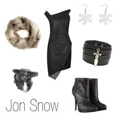 """""""Jon Snow"""" by ja-vy ❤ liked on Polyvore featuring Helmut Lang, Ugo Cacciatori, AllSaints, Renaissance Life, S.W.O.R.D., H&M, women's clothing, women's fashion, women and female"""