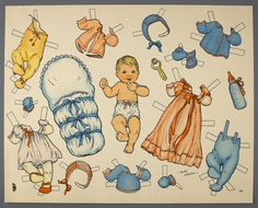 77.5207: paper doll | Paper Dolls | Dolls | National Museum of Play Online Collections | The Strong