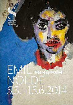 Emil Nolde Retrospective at Städel Museum Frankfurt Germany