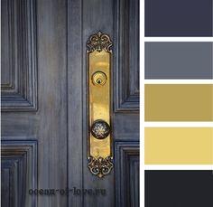 Royal blue color pallette