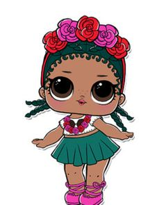 LOL Dolls Series 2 is large and in charge! Check out our guide to Series 2 wave 1 and wave 2 including the dolls, new features, where to buy, unboxing videos, and more. Lol Dolls, Cute Dolls, Chibi Kawaii, Blue Haired Girl, Doll Party, 6th Birthday Parties, Clipart, Paper Dolls, Baby Dolls