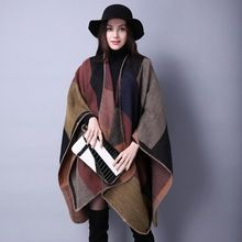 #1102 135*155cm 450g Winter poncho Plaid scarf Cashmere Pashmina scarf Ponchos and capes Foulard femme Thick Shawls and scarves     Tag a friend who would love this!     FREE Shipping Worldwide     #Style #Fashion #Clothing    Get it here ---> http://www.alifashionmarket.com/products/1102-135155cm-450g-winter-poncho-plaid-scarf-cashmere-pashmina-scarf-ponchos-and-capes-foulard-femme-thick-shawls-and-scarves/