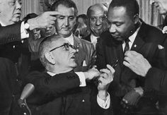 July 2, 1964- The Civil Rights Act is signed into Law