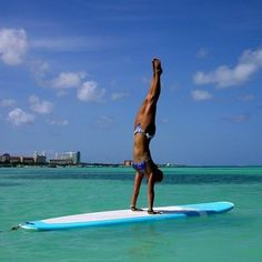 Paddleboarding Yoga || Your mind is your instrument, learn to be its master, not its slave. - Unknown