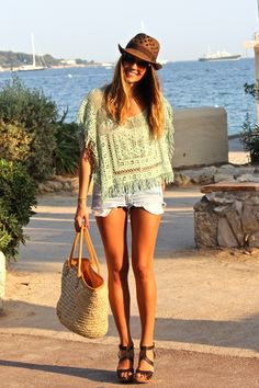 Hippie style for the 2014 Summer, Lovely. Indie Mode, Bohemian Mode, Hippie Bohemian, Hippie Style, Hippie Chick, Bohemian Style, Loose Fit, Looks Style, My Style
