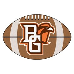 Bowling Green Falcons Touchdown Football Area Rug