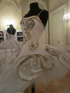 Bolchoi theatre - costume exhibition - Moscow
