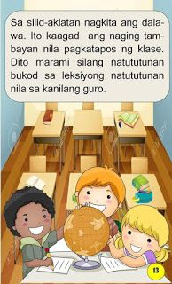 Teacher Fun Files: Maikling Kwento: Ang Magkapatid 1st Grade Math Worksheets, Short Stories For Kids, Visual Aids, Tagalog, Reading Passages, Picture Cards, Kindergarten Teachers, Reading Material, Best Teacher