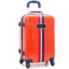Tommy hilfiger luggage introduces the lochwood hardside collection.