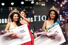 Barsha Lekhi crowned as Miss International Nepal 2016