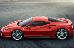 Ferrari 488 GTB. This is the newest one and it's turbo powered....