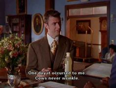 When someone asks you for your beauty secret. Gilmore Girls Funny, Gilmore Girls Quotes, Lorelai Gilmore, Tv Quotes, Girl Quotes, Funny Quotes, Friend Quotes, Couple Quotes, Gilmore Girls