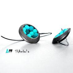 kolczyki NAI PAN - SHAMBALA-design - Biżuteria srebrna