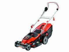 BLACK DECKER Edge-Max Lawn Mower with 42 cm Cut Intelli Cable Management 45 L Compact Go Box, 1800 W