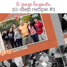 Make an Easy Two-Page Scrapbook Layout with 10-Step Formula (No 1) | Get It Scrapped