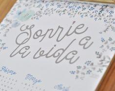 Lovelypaper | Calendario 2016 | http://www.lovelypaper.es