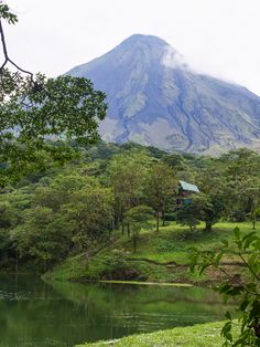 Arenal Volcano should be near the top of your must-see places in Costa Rica. #VisitCostaRica #Volcano #Explore