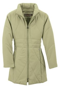 Ladies' Insulated Long Coat Ash City. $30.99