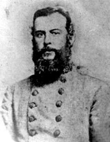 Alfred Mouton (1829-64). Louisiana  Brigadier General (CSA) West Point Class of 1850   Organized a Louisiana infantry company.  Promoted to BG because of his effective and resourceful leadership.  Killed leading his brigade at the Battle of Mansfield.