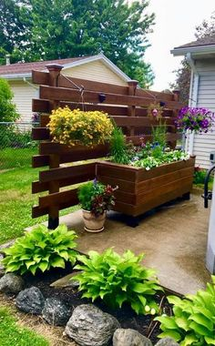 Project Plans - OZCO Building Products - Greater Projects Start Here - 10 garden design On A Budget porches ideas Backyard Patio Designs, Backyard Projects, Outdoor Projects, Garden Projects, Project Projects, Privacy Ideas For Backyard, Front Patio Ideas, Cool Backyard Ideas, Privacy Fence Decorations
