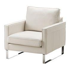 $699 Ikea MELLBY Armchair - Grann white - IKEA