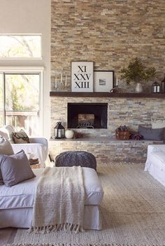 cozy ideas interior stone walls. faux stone fireplace wall becomes a focal point in this cozy living room 30 Inspiring Accent Wall Ideas To Change An Area  Stone accent