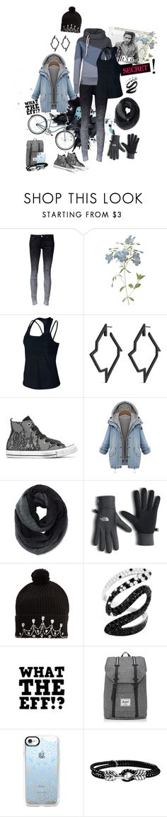 """""""Zora #2"""" by kruemelmonstaish ❤ liked on Polyvore featuring NIKE, Lynn Ban, Converse, Pistil, The North Face, Markus Lupfer, Effy Jewelry, Herschel, Casetify and David Yurman"""