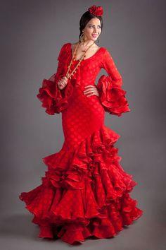 Flamenco Costume, Flamenco Dancers, Dance Costumes, Spanish Dress Flamenco, Estilo Cowgirl, Flamingo Dress, Red Wedding Dresses, Mexican Dresses, Dance Dresses