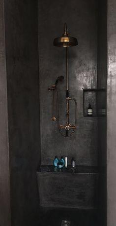 Regendouche - brons / koper - Taps & Baths