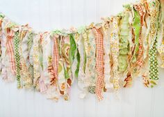 Could this be made with neutral colors?? rag fabric garland photography prop