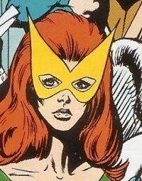 X-men Jean Grey Front Profile