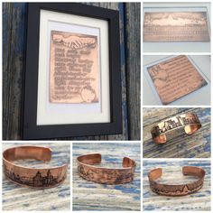 CCartistandmaker on Etsy: Music inspired personalised urban copper & silver jewellery, gifts and framed art. Jewelry Gifts, Handmade Jewelry, Framed Art, Etsy Seller, Silver Jewellery, Create, Manchester, Artist, Copper