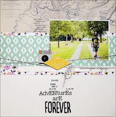 {adventures are forever...} by steffinchenb at @studio_calico