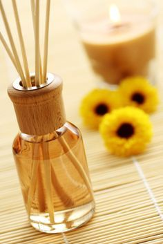 How To Make Homemade Reed Diffusers With Pure Essential Oils #aromabotanical