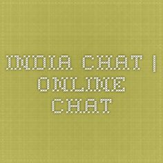 India Chat | Online Chat