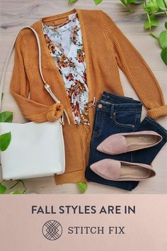 """"""" to a Personal Stylist with Stitch Fix and make this your most stylish season yet. We'll send you handpicked pieces to try on at home. Keep your favorites and send back the rest. Shipping, returns and exchanges are always free. Fall Outfits, Casual Outfits, Cute Outfits, Fashion Outfits, Womens Fashion, Fashion Trends, Fashion Styles, Runway Fashion, Fashion News"""