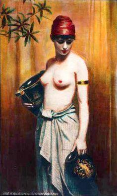 Max Nonnenbruch (1857 – 1922, German)Greek Slave - Water Carrier