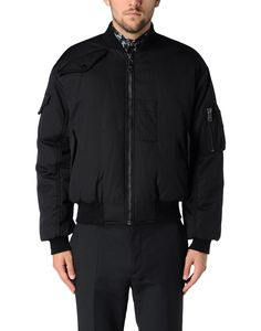 McQ by Alexander McQueen Black Reversible Nylon and Cotton Blend Bombe