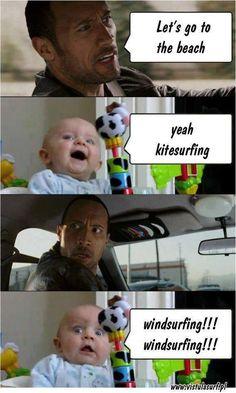 Hahaha! via Windzone #windsurfing - ActionTripGuru.com