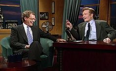 """Conan O'Brien, Letterman's successor as NBC's """"Late Night""""host, could have had his entire career thwarted – or at least mildly delayed – by oneDavid Spade, who turned down some pretty solid money toreplace Letterman"""