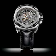 CORUM Admiral's Cup AC-One 45 Skeleton Mechanical exploration (See more at En/Fr/Es: http://watchmobile7.com/articles/corum-admiral-s-cup-ac-one-45-skeleton) (2/5) #watches #montres #relojes #corum @Diana Corum Watches