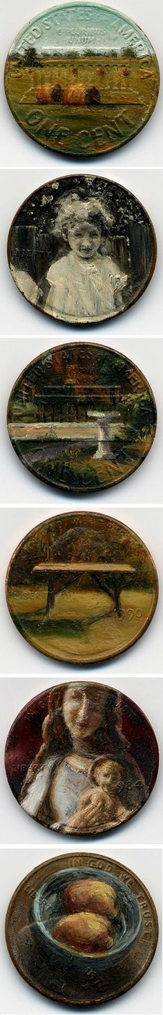 1000 images about painting on copper on pinterest copper copper penny and oil paintings - Incredible uses for copper pennies ...