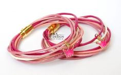 pink bracelet for little princess
