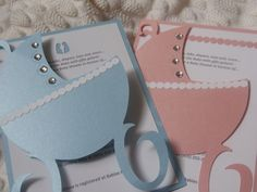 Baby Carriage Shower Invitation by THEINVITEBOUTIQUE on Etsy, $3.75