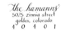 i like the mix of handwriting and printing