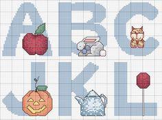 Complete cute alphabet ~freebie