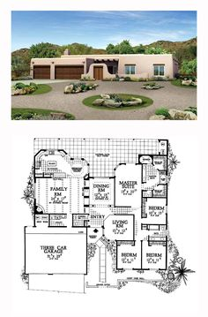 Santa Fe House Plans On Pinterest Santa Fe House Plans