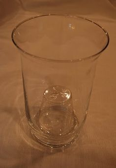 Plastic Cup in Hurricane to take up volume